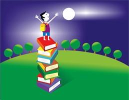 Books Moon