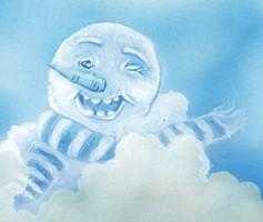 Winking Snowman 200