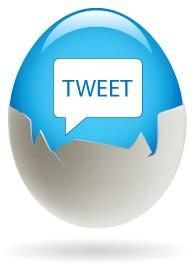 Twitter Tweet Egg