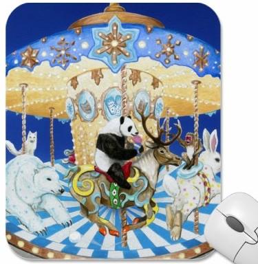 Snowland Mousepad