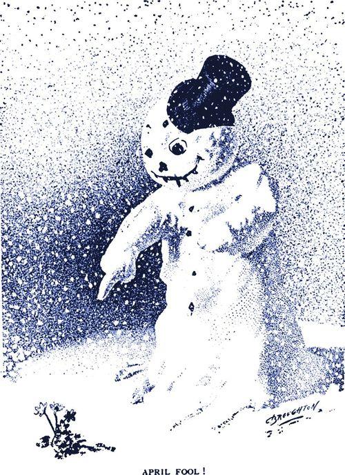 Snow APRIL Fool