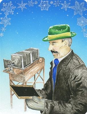 behind the scenes of the snowland deck wilson bentley s snowflakes