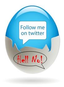Twitter Hell No