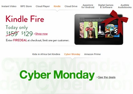 Fire cyber monday