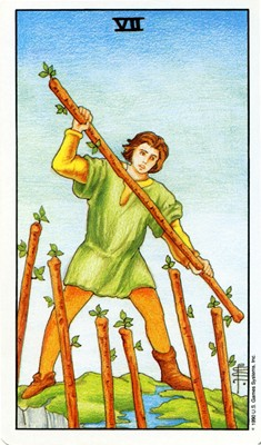 7 of Wands 400