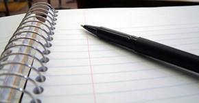 Pen paper smaller