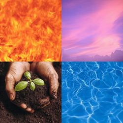Four Elements Symbol