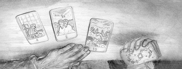 Lincoln Tarot Cards Smaller