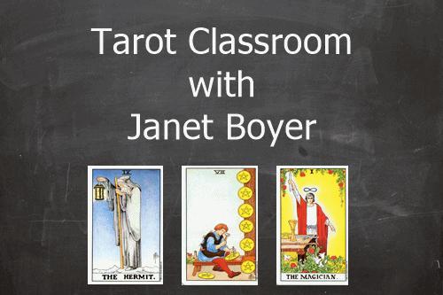 Tarot Classroom Chalkboard