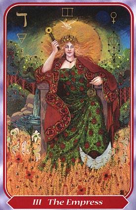 Empress spiral tarot