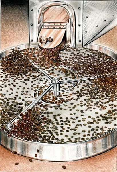 Coffee Tarot Wheel 600