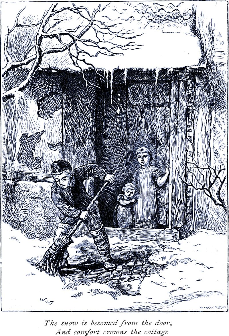 Winter-Pictures-by-Poet-and-Artist-engraved-by-Edward-Whymper-1881