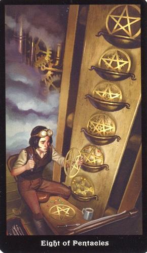 8 Coins Steampunk