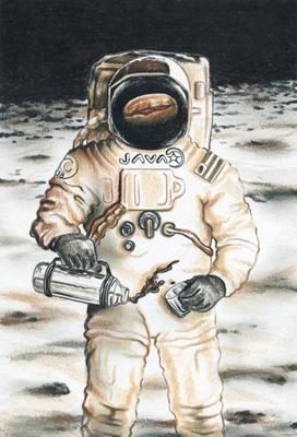 Moon Astronaut 400