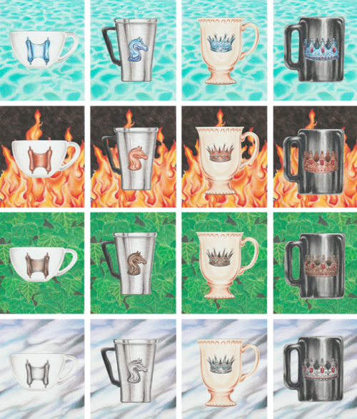 Coffee Tarot Coruts