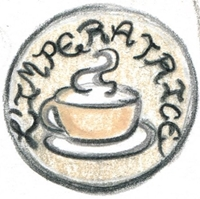 Coffee Tarot Empress Button SMALLER