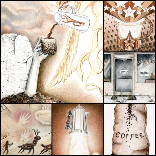 Janet Faves Coffee Tarot
