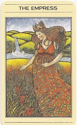 Empress mythic tarot