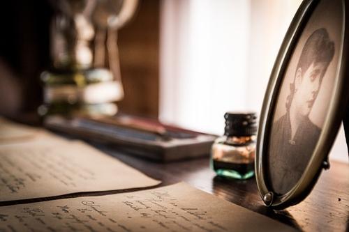 Writing sepia