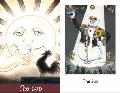 Suns cards 500