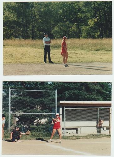 Janet Softball Pics