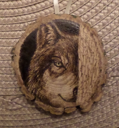 Wolf Ornament Crop