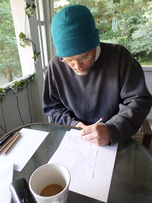 Ron Sketching Blending