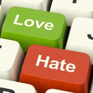 Love Hate Smaller