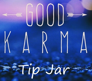 Good karma tip jar 300