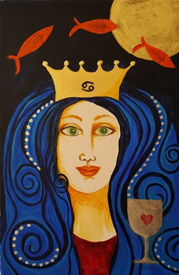 Queen of Cups 400