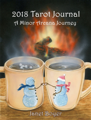 NEW 2018 Tarot Journal Cover 500
