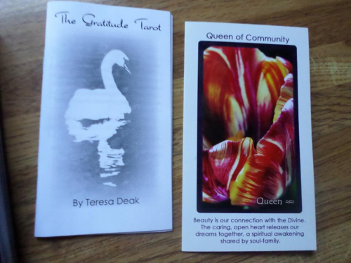 Gratitude tarot 2