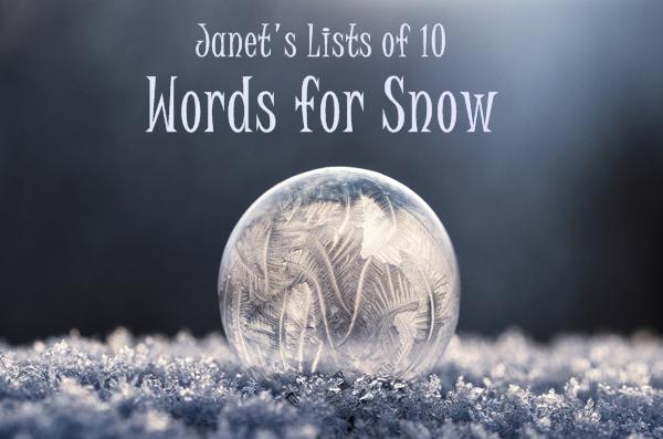 Snow words