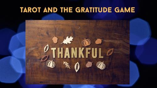 600Tarot Gratitude Game Image