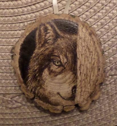 Wolf Ornament Crop