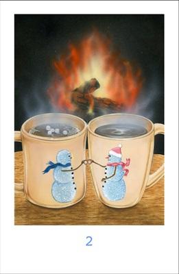 2 of Cups Jumbo FONT